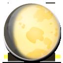 Waxing Gibbous Moon Symbol lg emoji