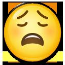 Weary Face lg emoji