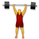 Weight Lifter lg emoji