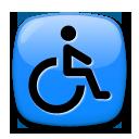Wheelchair Symbol lg emoji