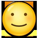 White Smiling Face lg emoji