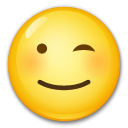 Winking Face lg emoji