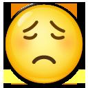 Worried Face lg emoji