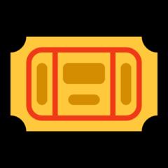 Admission Tickets microsoft emoji