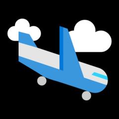 Airplane Arriving microsoft emoji