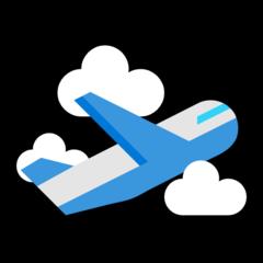 Airplane Departure microsoft emoji