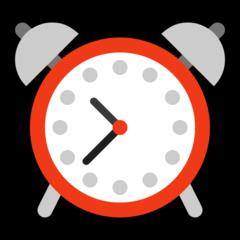 Alarm Clock microsoft emoji