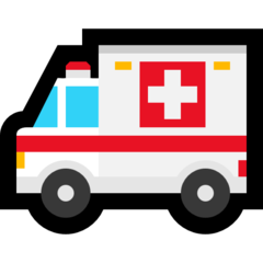 Ambulance microsoft emoji