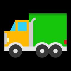 Articulated Lorry microsoft emoji