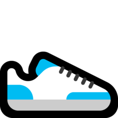 Athletic Shoe microsoft emoji