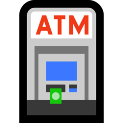Automated Teller Machine microsoft emoji
