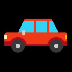Automobile microsoft emoji