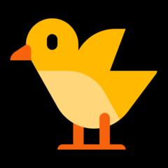 Baby Chick microsoft emoji
