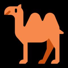 Bactrian Camel microsoft emoji
