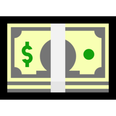 Banknote With Dollar Sign microsoft emoji