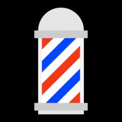 Barber Pole microsoft emoji