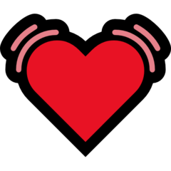 Beating Heart microsoft emoji