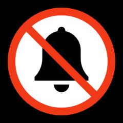Bell With Cancellation Stroke microsoft emoji