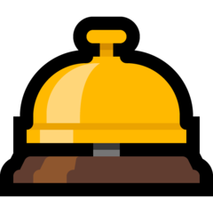 Bellhop Bell microsoft emoji