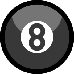 Billiards microsoft emoji