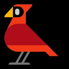 Bird microsoft emoji