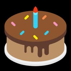 Birthday Cake microsoft emoji