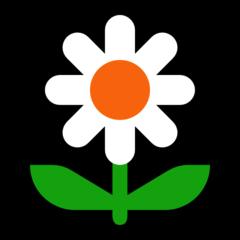 Blossom microsoft emoji