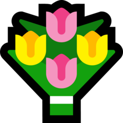 Bouquet microsoft emoji
