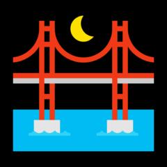 Bridge At Night microsoft emoji