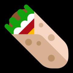 Burrito microsoft emoji