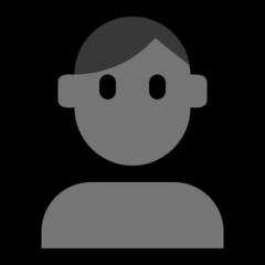 Bust In Silhouette microsoft emoji