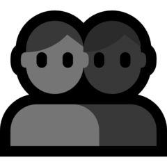 Busts In Silhouette microsoft emoji