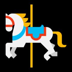 Carousel Horse microsoft emoji