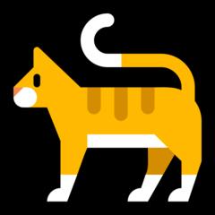 Cat microsoft emoji