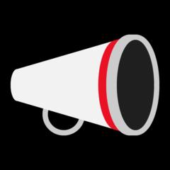 Cheering Megaphone microsoft emoji