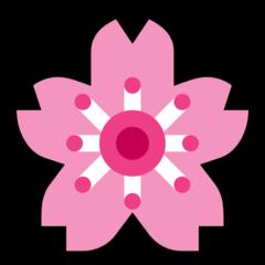 Cherry Blossom microsoft emoji