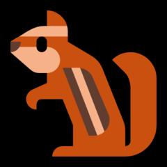 Chipmunk microsoft emoji