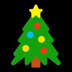 Christmas Tree microsoft emoji