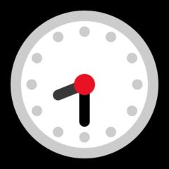 Clock Face Eight-thirty microsoft emoji