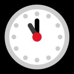 Clock Face Eleven Oclock microsoft emoji