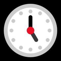 Clock Face Five Oclock microsoft emoji