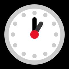 Clock Face One Oclock microsoft emoji