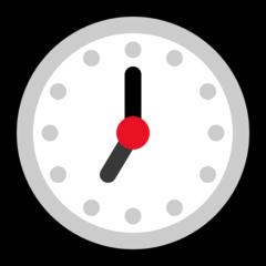 Clock Face Seven Oclock microsoft emoji