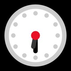 Clock Face Six-thirty microsoft emoji