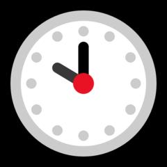 Clock Face Ten Oclock microsoft emoji
