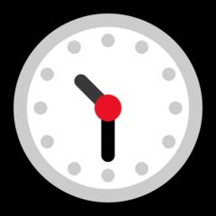 Clock Face Ten-thirty microsoft emoji