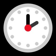 Clock Face Two Oclock microsoft emoji