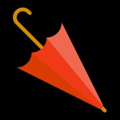 Closed Umbrella microsoft emoji