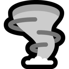 Cloud With Tornado microsoft emoji