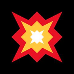 Collision Symbol microsoft emoji